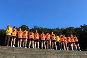 Handball Damenmannschaft: Gut auf Kurs!