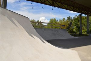 Quarterpipe für Skateboardpark in Dättwil